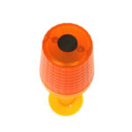 Cone Safety Lamp - top