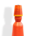 Cone Safety Lamp - fitted