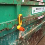 STACKA Barrier - fitted on container