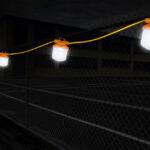 LED String Lights - at night
